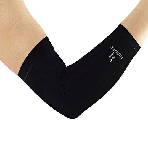 Tennisarm Muskel (Kompressionsbandage für Ellbogen - Hibote Kupfer-Ellenbogenhülse - Copper-Health, bietet Unterstützung – für Damen und Herren - bei Tennisarm, Golferarm - mit Kupfer verstärkt)
