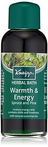 Kneipp chaleur et de l'énergie Spruce Pine & Herbal Bath - 3.38 Oz.
