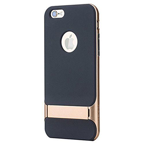 iPhone 6 Plus Hülle, iPhone 6 Ultra Slim Case Dünn PC Hardcase HandyHülle mit Kratzfest Hart Plastik Schutz Leicht Schale Telefon Tasche für Apple iPhone 6S (Gold, iPhone 6 Plus 5.5