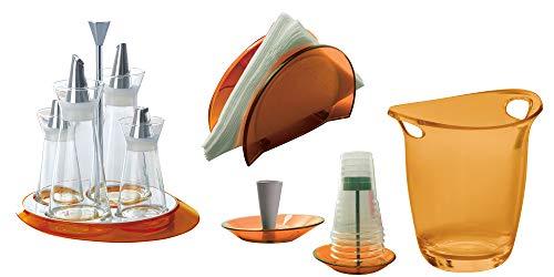 BUGATTI - Set von 5 Stück Glamour - Orange
