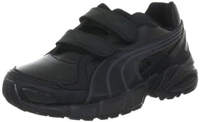 Puma Unisex AXIS 2 SL V Jr Black, Black and Dark Shadow Sports Shoes - 3C UK