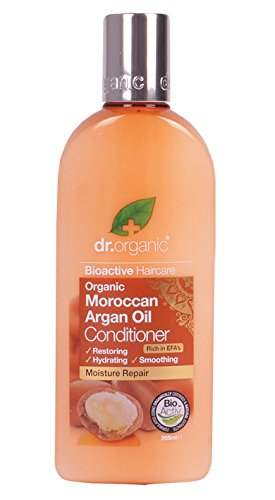 Dr. Organic Moroccan Argan conditioner,265 ml, 1er Pack (1 x 265 ml) - Antioxidant Conditioner