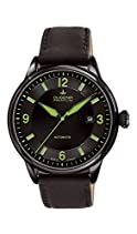 Dugena Mechanik Herren-Armbanduhr Kappa 1 Automatik Analog Automatik Leder 7000301