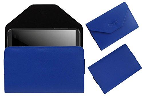 Acm Premium Pouch Case For Karbonn Smart A15+ Flip Flap Cover Holder Blue  available at amazon for Rs.179