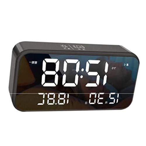LIJINFEI Reloj Pared Reloj Despertador Musical Reloj