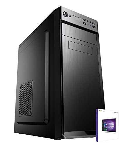 PC DESKTOP COMPUTER FISSO▬LICENZA WINDOWS 10 PRO▬ASSEMBLATO COMPLETO Intel QUAD-CORE fino a 2.3 GHZ▬RAM 8GB▬HD 1TB▬MASTERIZZATORE▬DILC GREEN HIGH