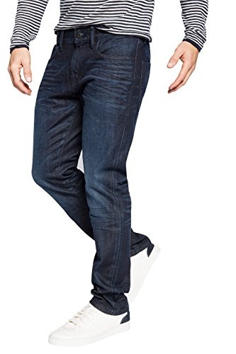 ESPRIT Collection - 5P Slim, Jeans da uomo, blu (blau  (e dark blue 952)), W32/ L32