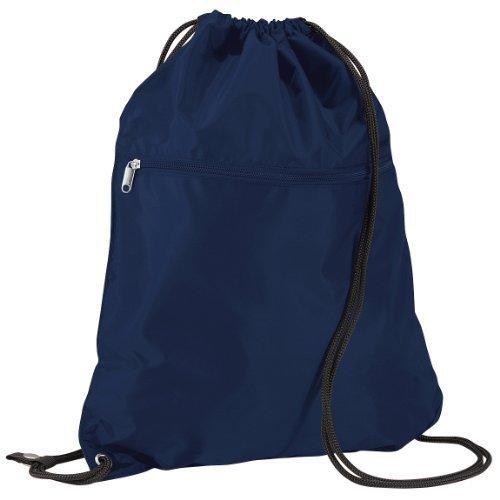 Imagen de quadra   saco o de cuerdas impermeable/resistente al agua modelo enhanced vis junior deporte/gimnasio 14 litros  talla única/azul marino