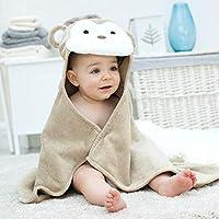 Bathing Bunnies Monkey Hooded Baby Towel
