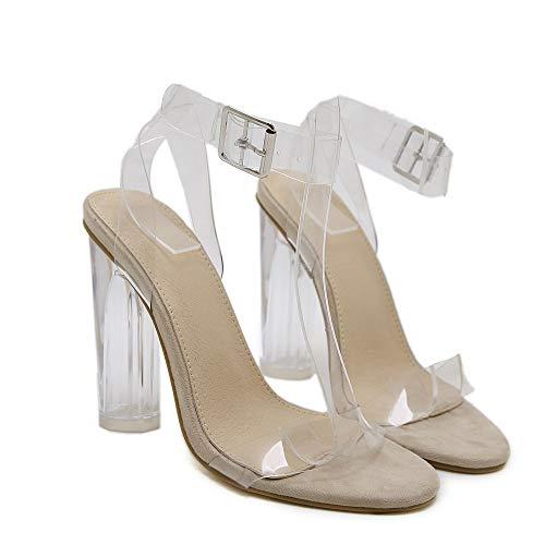 Chaussures Mosstars Sandales De Plage Femme,Bride Cheville Femme Sandales Bout Ouvert Sandales SoiréE Parties Mariage Chaussures Romaines Pantoufles à Talons Plats Noir Rose