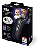 Braun ThermoScan 7 Ear Thermometer with Age Precision - Black Edition, IRT6520B