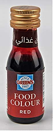 Green's Red Food Colour, 28 ml - Pack
