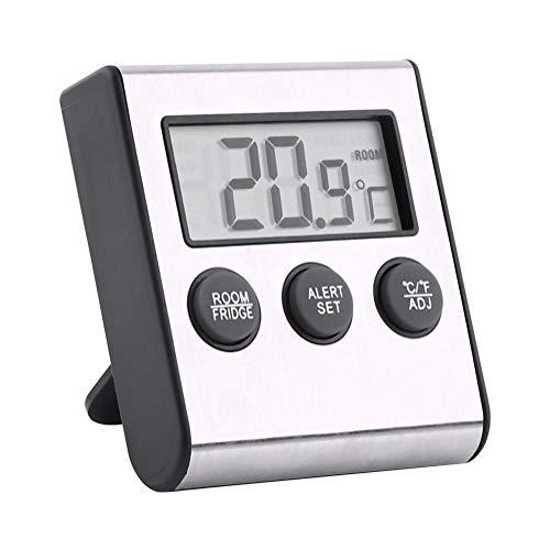 Kühlraum-Gefriermaschine-Thermometer, wasserdichter LCD-Digital-Kühlraum-Temperatur-Raum-Thermometer mit Magneten und Stand