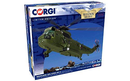 Corgi aa33421Westland Sea King HC. 4za290/VC Nr. 846Naval Air Squadron Modell -