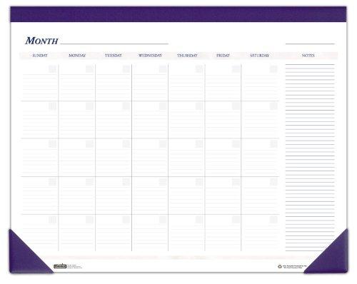 Kalender Block Daily (House of Doolittle Non-Dated Schreibtisch-Auflage-Kalender, Blau, 22 x 17 Zoll (HOD464))