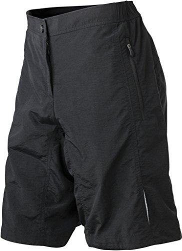 JAMES & NICHOLSON Mulitfunktionelle Bike-Shorts Black
