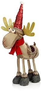 com-four® Reno de Navidad Premium
