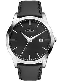 s.Oliver Time Unisex Erwachsene-Armbanduhr SO-3396-LQ
