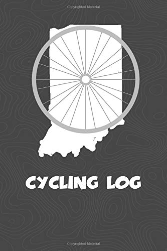 Cycling Log: Indiana Cycling Log for tracking and monitoring your workouts and progress towards your bicycling goals. A great fitness resource for any ... Bicyclists will love this way to track goals! por KwG Creates
