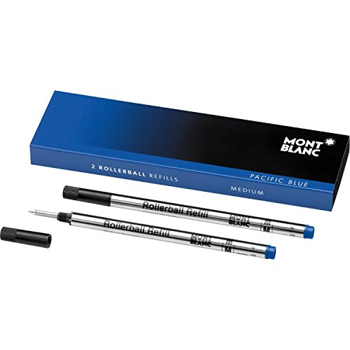 original-mont-blanc-rollerball-refills-pack-of-2-blue-medium-point-made-in