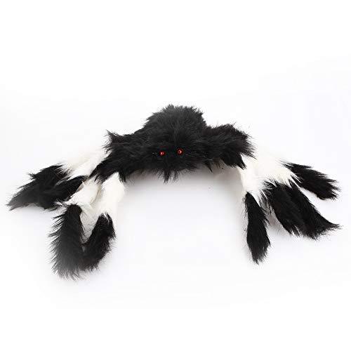 Bolange Halloween Spoof Spinne Dekoration 50 cm Farbe Gelenk Spinne Horror Baumwolle Samt Halloween Spielzeug Dekoration