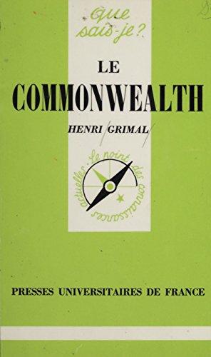 Le Commonwealth britannique