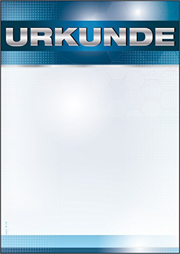 Sigel DP120 Blanko Urkunde Sport, DIN A4, 185 g/m², 12 Blatt