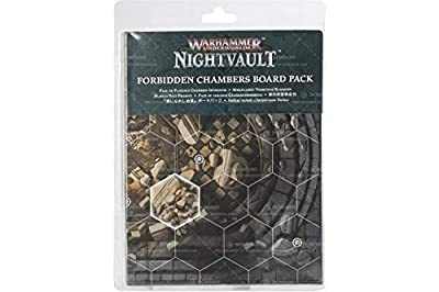 Games Workshop Warhammer Underworlds: Nightvault – Pack de Plateau des Chambres Interdites