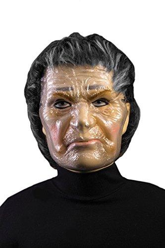 Forum Novelties x78659transparent Old Lady Maske, Unisex, braun, one ()
