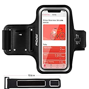 iPhone Running Armband, Mpow Running Armband for iPhone X/ 8/ 7/ 6S/ 6 (Phones up to 5.1