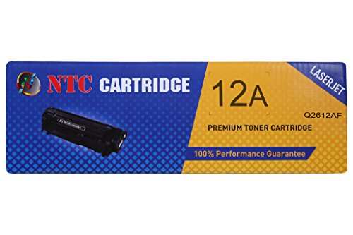 NTC 12A 2-pack Black LaserJet Toner Cartridges Compatible for HP LaserJet 1010, 1012, 1015, 1018, 1020, 1020 plus printers, 1022 Printer series,3015, 3020, 3030, 3050z, 3050, 3052, 3055 All-in-Ones, M1005, M1319f MFP  available at amazon for Rs.1200