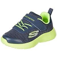 Skechers Erkek Bebek Dynamight Sneaker, Gri, 25
