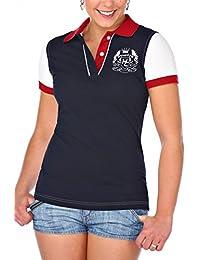M.Conte Women Polo-Shirt Camisa Blusa de Polo para las mujeres Konstanze