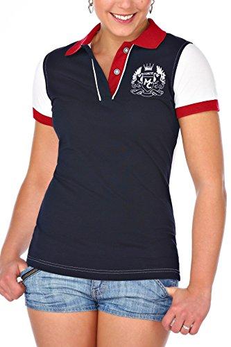 M.Conte Women Polo-Shirt Camisa Blusa De Polo Para Las Mujeres Konstan