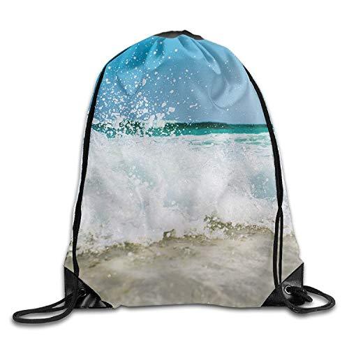 uykjuykj Tunnelzug Rucksäcke, Barbecue F3 Personalized Gym Drawstring Bags Travel Backpack Tote School Rucksack Lightweight Unique 17x14 IN -