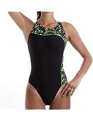 fcbddcccb0bd Okeo - Costumi interi / Mare e piscina: Sport e tempo libero - Amazon.it