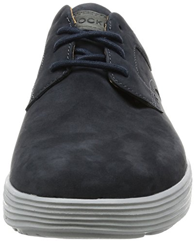 Rockport Herren Thurston Plain Toe Derby Blau (New Dress Blues Nbk)