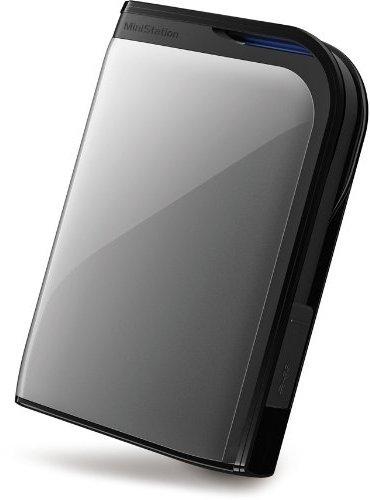 Buffalo HD-PZ500U3S-EU 500GB externe Festplatte (6,4 cm (2,5 Zoll), 5400rpm, 8MB Cache, USB 3.0) silber