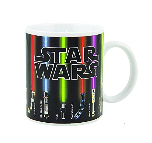 ETRONG Tazza di Star Wars Tazza Lightsaber Heat Change 12 OZ Ceramic - Grande regalo per i fan di Star Wars!