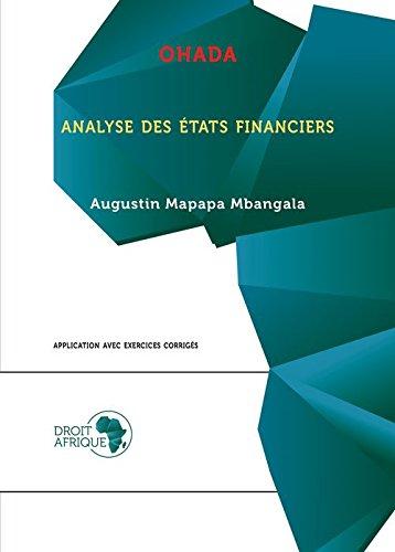 Ohada Analyse des Etats Financiers