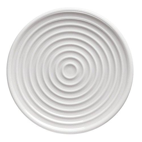 Thomas ONO flach 11 cm (= Espresso-Untertasse) Teller, Porzellan, Weiss, 12 x 12 x 2 cm - Teller 11