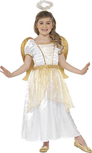 (Smiffys Kinder Fancy Dress Party Mädchen Buch Woche Engel Prinzessin Kostüm Outfit)
