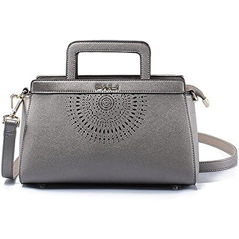 LXL KIU Signora coreano moda borsa/Vuoto/Spalla semplice laptop Messenger bag/Pacchetto sposa corrente