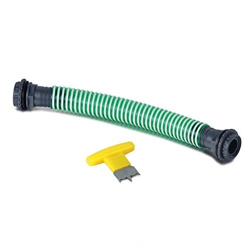 Regentonnenverbinder 52 mm als Set für eine sichere Verbindung zwischen Regenwasssertonnen und Regenspeicher