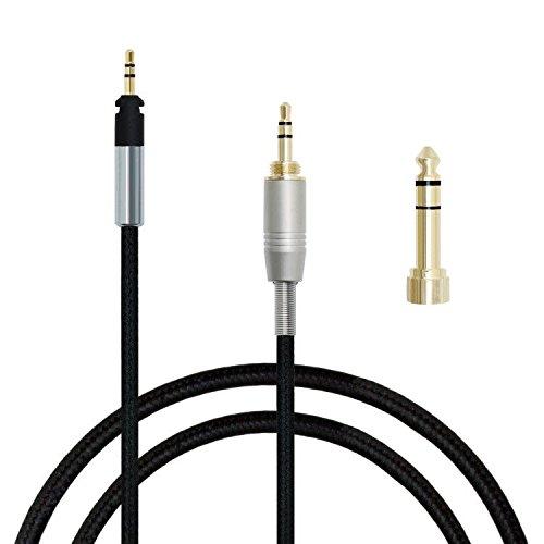 gotor® Cavo delle cuffie cavo di estensione audio di aggiornamento del cavo del cavo per Shure SRH440 SRH940 SRH840 SRH750 SRH940 Cuffie