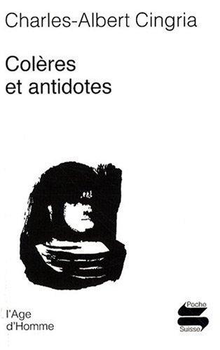 Colères et antidotes
