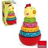 Goula - Apilable gallina, juego de habilidad (Diset 55210)