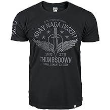 Krav Maga Camiseta Pulgares hacia abajo. KRAV maga postre. Silenciosa profesionales. Israel Combat Division. Mezclados Marcial Artes MMA Camiseta