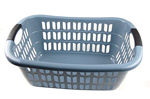 WÄSCHEKORB WÄSCHEKÖRBE KUNSTSTOFF WÄSCHE KORB Wäschekorb Plastik (Grün)