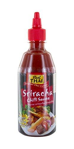 Real Thai Sriracha Chili Sauce, 3er Pack (3 x 430 ml)
